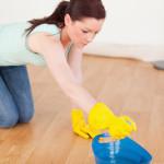 vi moppar och dammtorkar alla golv
